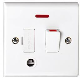 13A DP Switched with Flex Outlet & Neon