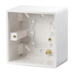 1 Gang 47mm Deep Pattress Box