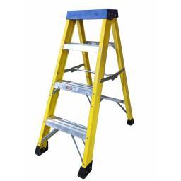 4 Tread Fibreglass Step Ladder