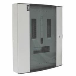 Hager 6 way 3 phase distribution board