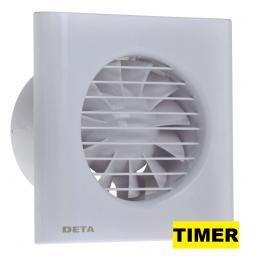 """Deta 4""""/100mm Extractor Fan - Timer"""