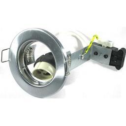 Pressed Steel Downlight GU10 - Chrome
