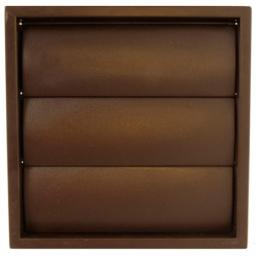 """6"""" Gravity Grille - Brown"""