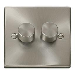 2 Gang 2 Way 400w Dimmer Switch