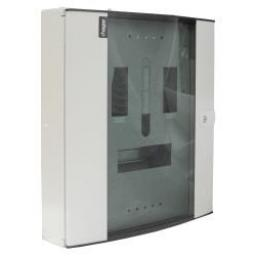 Hager 4 way 3 phase distribution board