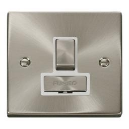 13a Fused 'Ingot' Switched Connection Unit - White