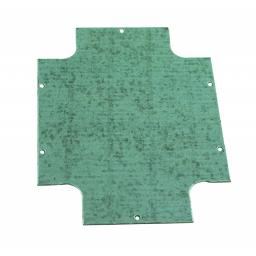 Steel Mounting Plate for Plastic Enclosure - (400x300mm)