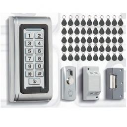 Bell System - Access Control Keypad Kit with 50 Fobs