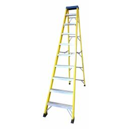 10 Tread Fibreglass Step Ladder