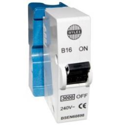Wylex 16 Amp MCB B16