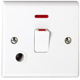 20A DP Switch with Flex Outlet & Neon