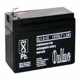 Honeywell 12V 1.2AH Alarm Battery