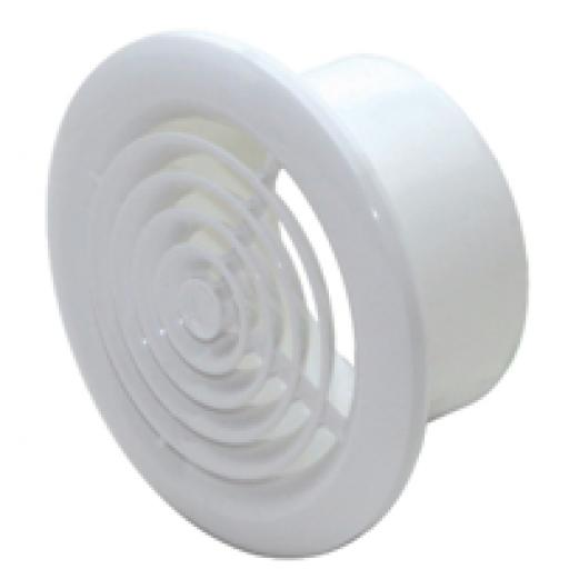 """4"""" Round ceiling Grille - White"""