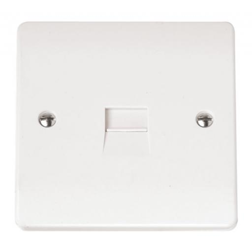Single Telephone Outlet - Secondary