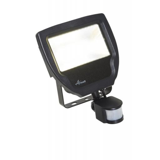 20W Calinor 4000K Polycarbonate LED Floodlight c/w PIR