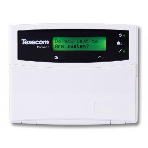 Texecom Premier LCD Remote Keypad