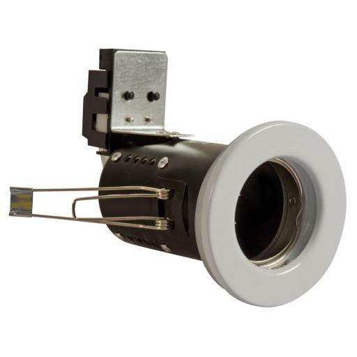 Fire Rated Downlight GU10 Fixed - White