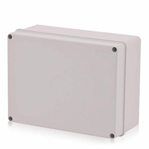 Grey Plastic Junction Box - IP56 (240x190x90 mm)