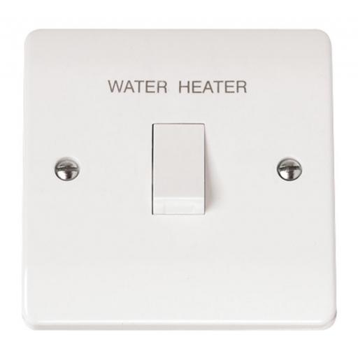 20A DP Switch 'Water Heater'