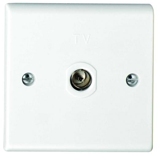 Single Co-Axial Outlet - Non-Isolated
