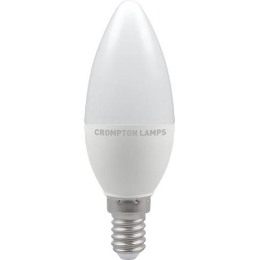 5.5W SES (E14) LED Candle - Warm White 2700k