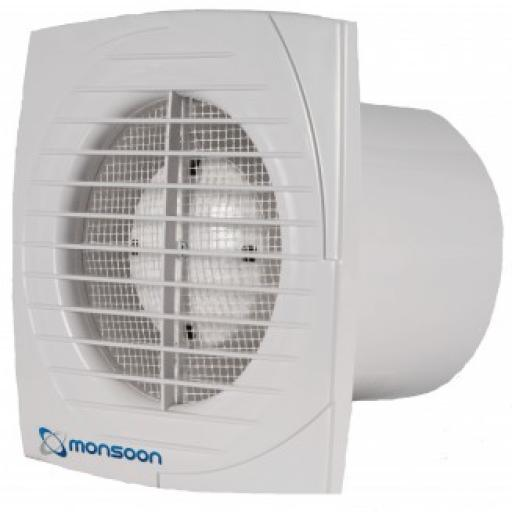 """National Vent. 4"""" 12V Extractor Fan"""