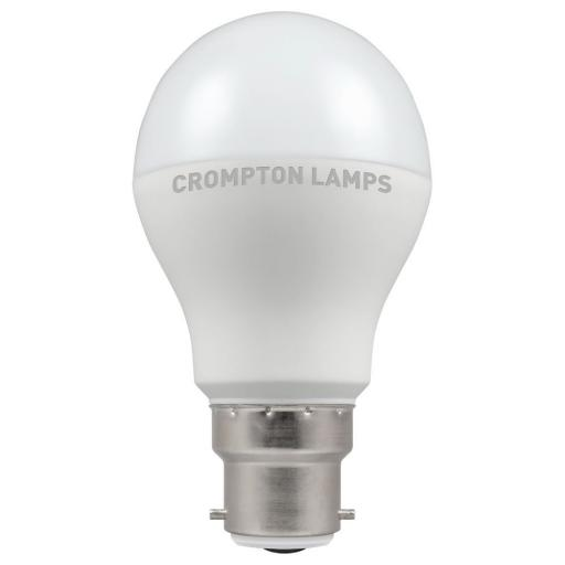6W BC (B22d) LED GLS - Warm White 2700k