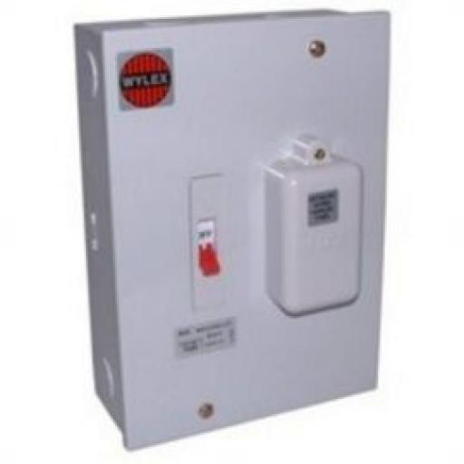 Wylex 160Cm 60A Main Switch Fuse 1 Way Modular (3rd Amend Co