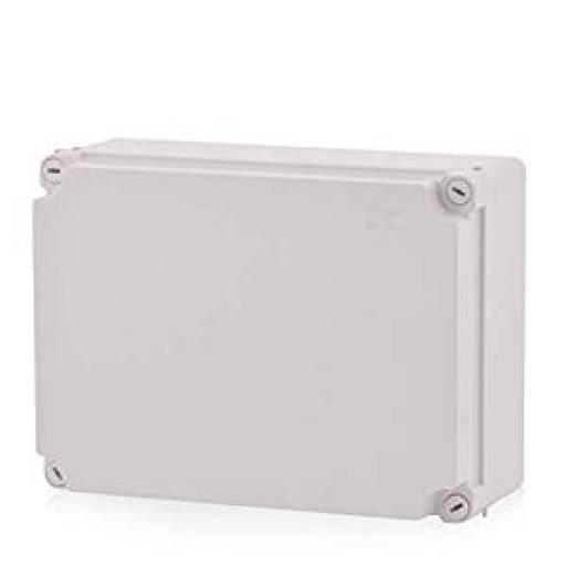 Grey Plastic Junction Box - IP56 (300x220x120 mm)
