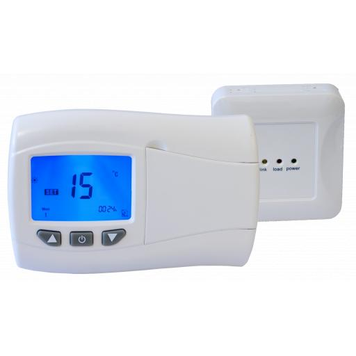 Digital Programmable RF Room Thermostat