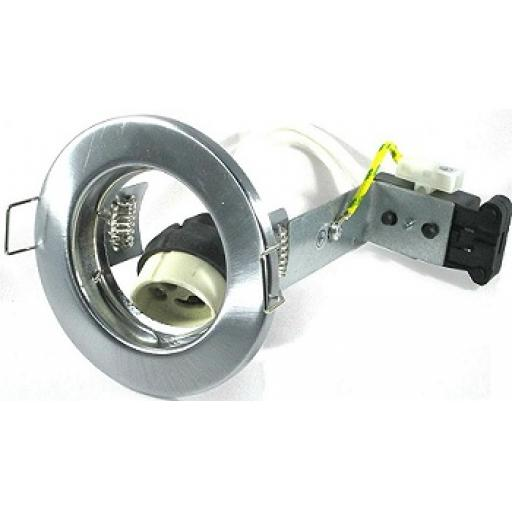 Pressed Steel Downlight GU10 - Chrome