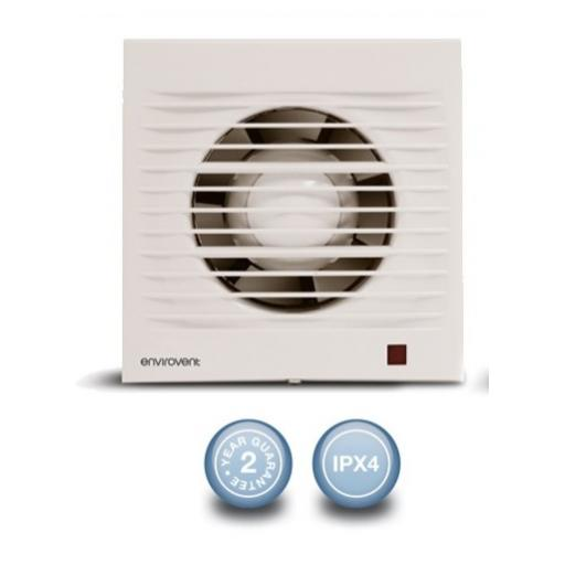 "Envirovent Profile 4""/100mm Extractor Fan - Standard"