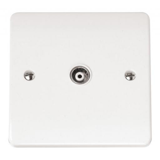 ISOLATED COAXIAL SOCKET SINGLE OUTLET