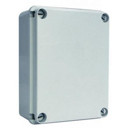 Grey Plastic Junction Box - IP55 (260x210x160 mm)