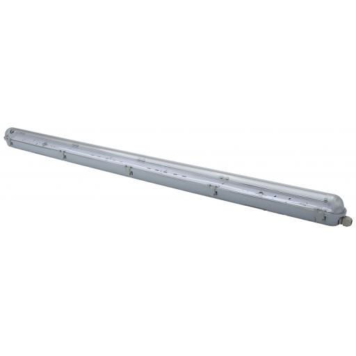 4ft Single Non Corrosive (IP65) Batten Fitting for LED Tube