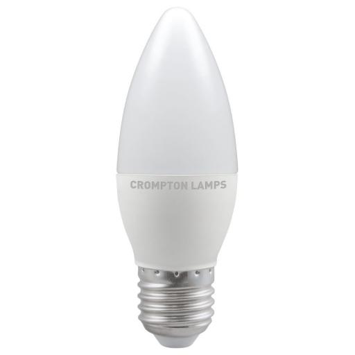 5.5W ES (E27) LED Candle - Cool White 4000k