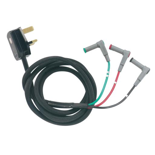 Mains Lead for Multi Function Testers