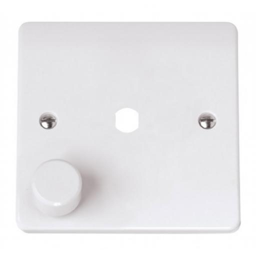 MODE 1 GANG SINGLE DIMMER PLATE & KNOB