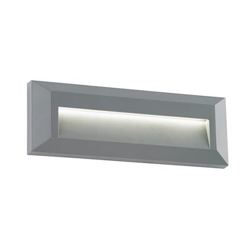 Severus Landscape Indirect IP65 2W Warm White - Grey ABS