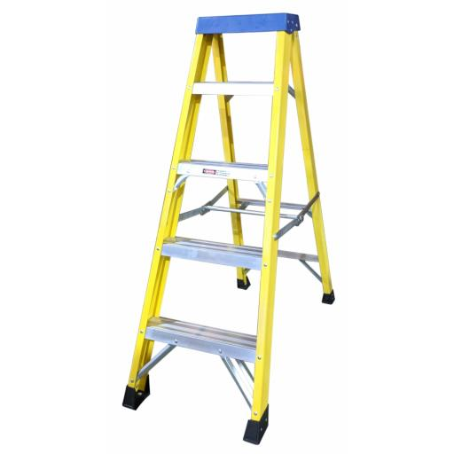 5 Tread Fibreglass Step Ladder