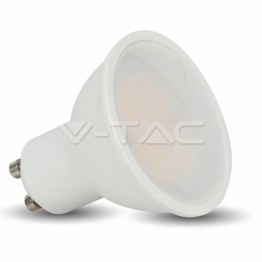 LED 3W GU10, 210lm, 110°, 4000K (Cool White)