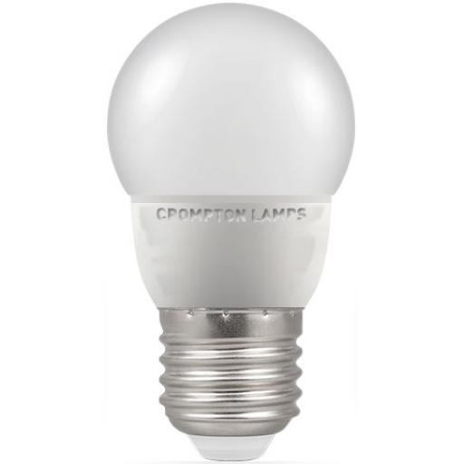 5.5W ES (E27) LED Golf Ball - Cool White 4000k