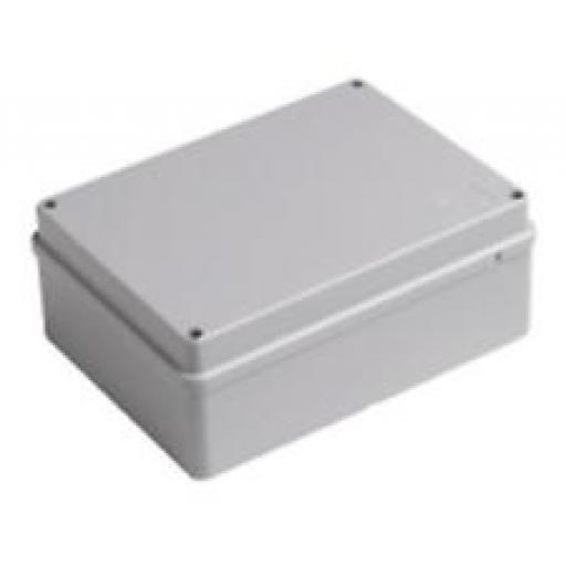 Grey Plastic Junction Box - IP55 (320x240x180 mm)