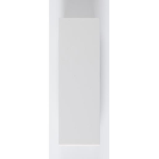 1/2 Blank - White
