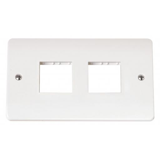 Twin Plate 2 X 2 Aperture