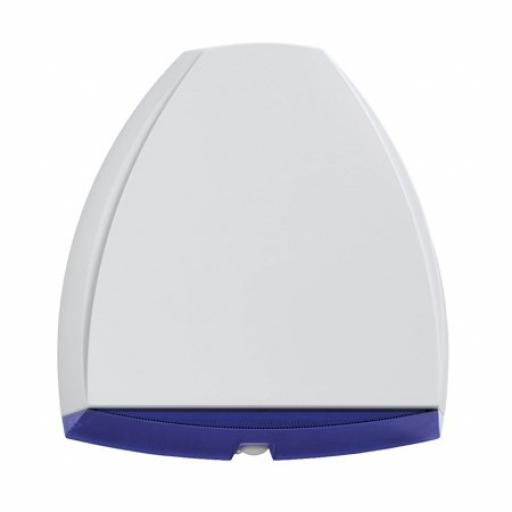 Honeywell ADE Reson8 White Dummy Bell Box With Blue Lens