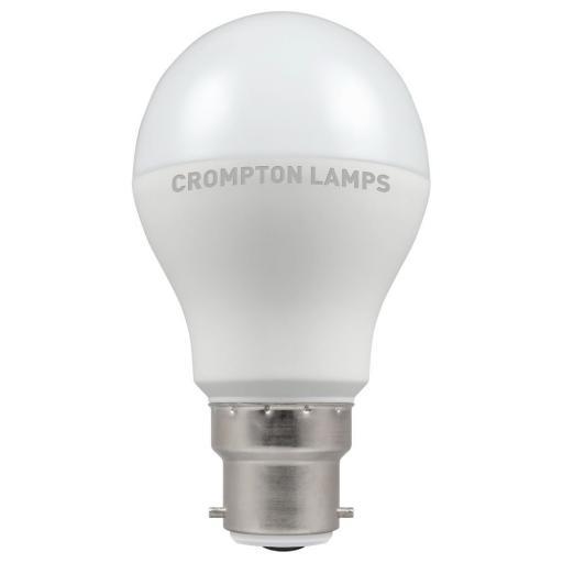 9.5W BC (B22d) LED GLS - Warm White 2700k