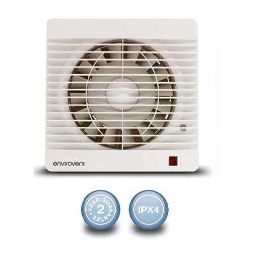 "Envirovent Profile 6""/150mm Extractor Fan - Standard"