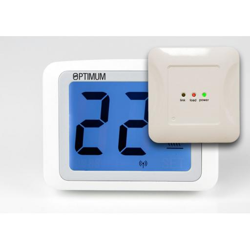 Touch Screen Digital RF Room Thermostat