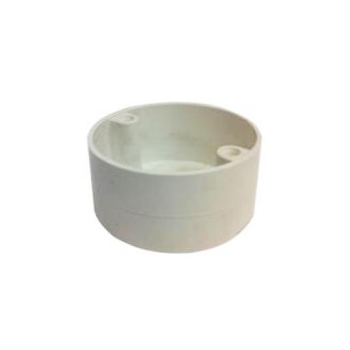 20mm Loop in Box 4 Hole White